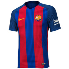 16-17 Barcelona Home Match Jersey - Authentic