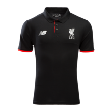 [해외][Order] 16-17 Liverpool(LFC)  Elite Training Polo - Black