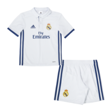 [해외][Order] 16-17 Real Madrid (RCM) Home Mini Kit - INFANTS