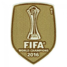 2016 World Champion Patch (For 16~18 Real Madrid)