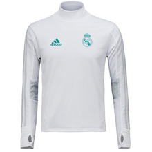 17-18 Real Madrid (RCM) Training Top - White