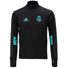 17-18 Real Madrid (RCM) Training Top - Black