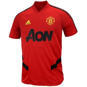 19-20 Manchester United Training Jersey - Red