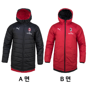 19-20 AC Milan Reversible Bench Jacket