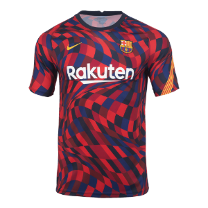 20-21 Barcelona Breathe Top Pre Match Jersey