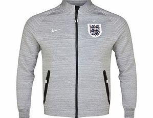 [Order] 14-15 England N98 Tech Fleece Track Jacket - Grey