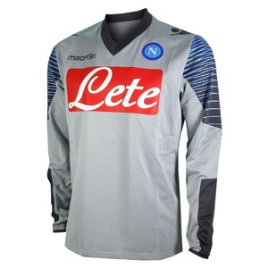 [Order] 14-15 Napoli Official LS Training Top - Grey