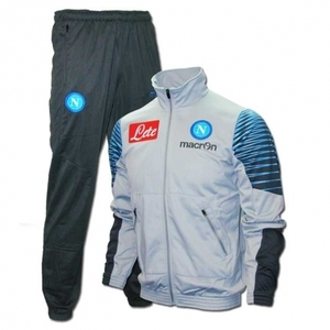 [Order] 14-15 Napoli Official Player Tracksuit (Light Grey) - KIDS