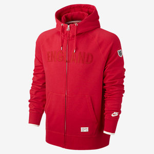 [Order] 14-15 England AW77 Covert Full Zip Hoody - Red/Pearl