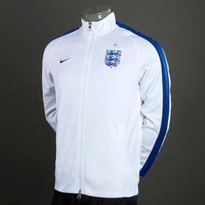 [Order] 14-15 England N98 Authentic Track Jacket - Wht/Royal