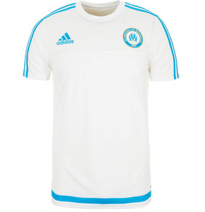 [해외][Order] 15-16 Marseille Training Jersey (White) - adizero