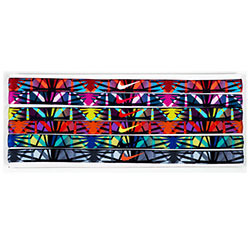 Nike Printed Headband Assorted 6PK