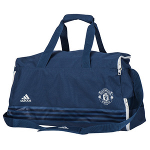 [해외][Order] 16-17 Manchester United Medium Team Bag - Mineral Blue/Chalk White