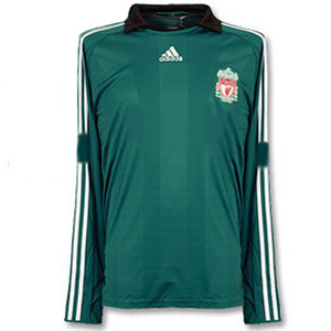 08-09 Liverpool 3rd L/S UCL(Champions League) Player Issue Jersey (FORMOTION) - AUTHENTIC