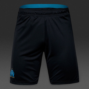 [해외][Order] 16-17 Marseille EU Training Shorts - Blue/Black