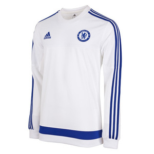 [해외][Order] 15-16 Chelsea(CFC) Sweat Top - White