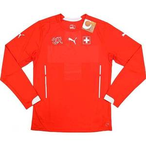[Order] 14-15 Switzerland Player Issue Home L/S (Pro Fit) - Authentic