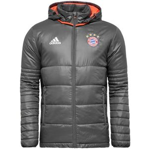 16-17 Bayern Munchen Padded Jacket - Granite