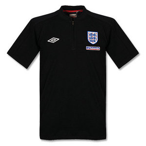 09-11 England Home After Match Cotton Polo - Galaxy