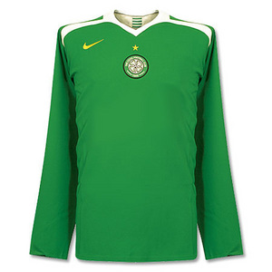 05-06 Celtic Away L/S Code-7 Player Issue