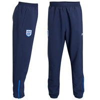 2010/11  England Match Day Woven Pants - Dark Navy