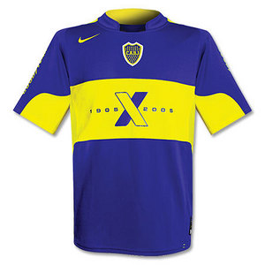 04-05 Boca Juniors Centenary Home + 9.PALERMO + Red MEGATONE Spon (Size:M)