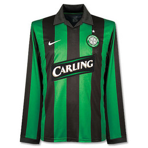 07-08 Celtic 3rd(06/07 Away) L/S Authentic Player Issue