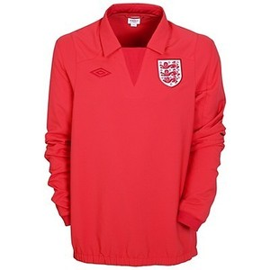 10-11 England Drill Top - Special Edition / Red